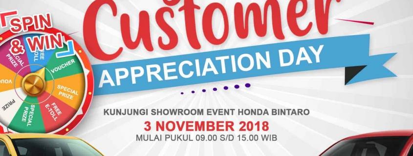 Showroom Event Honda Brio 3 November 2018