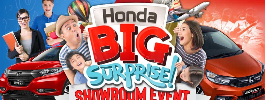 Honda Big Surprise, Loyalty Customer dan Apresiasi Pendidikan