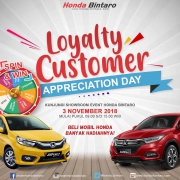 Showroom Event Honda Brio 3 November 2018
