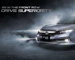 New Honda Civic 1.5 L Turbo