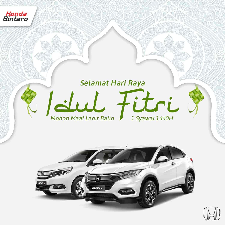 Eid Mubarak Honda Bintaro