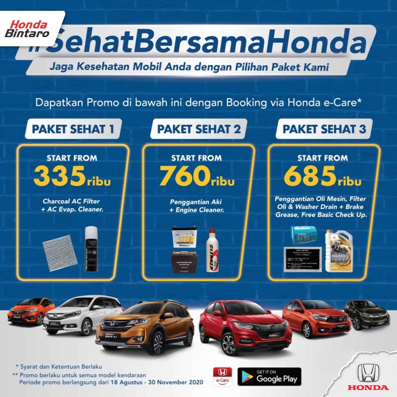 Promo Service Mobil Honda Honda Bintaro